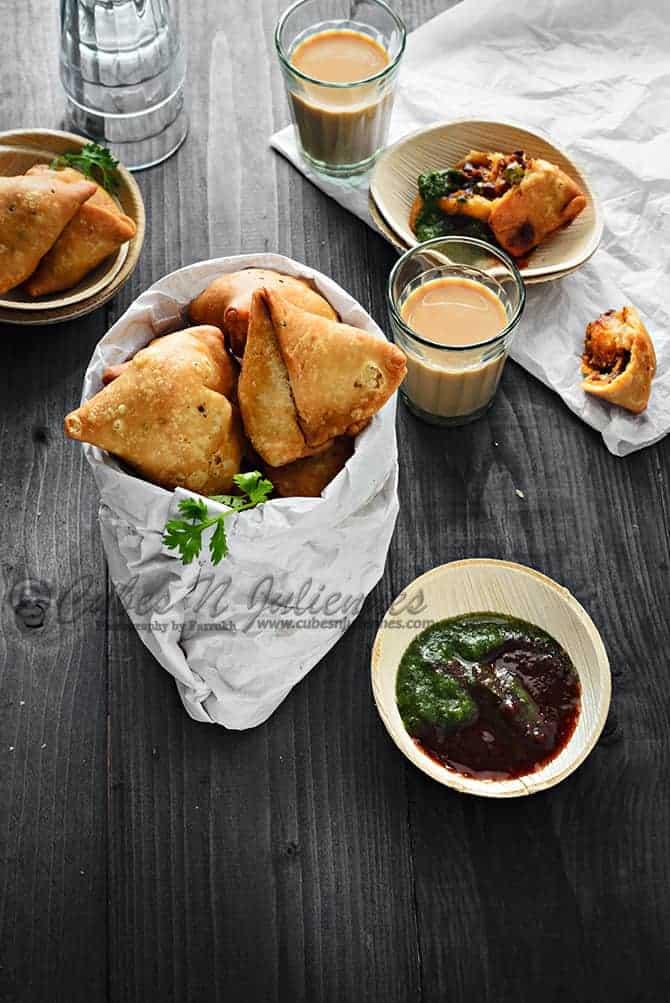 how to make samosa patti step by step