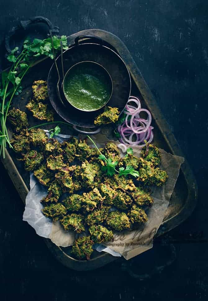 Green Peas Fritters