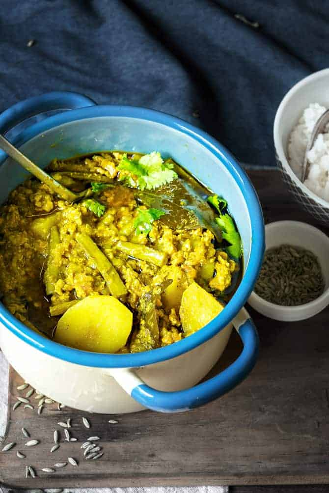 Keema Gawar Curry
