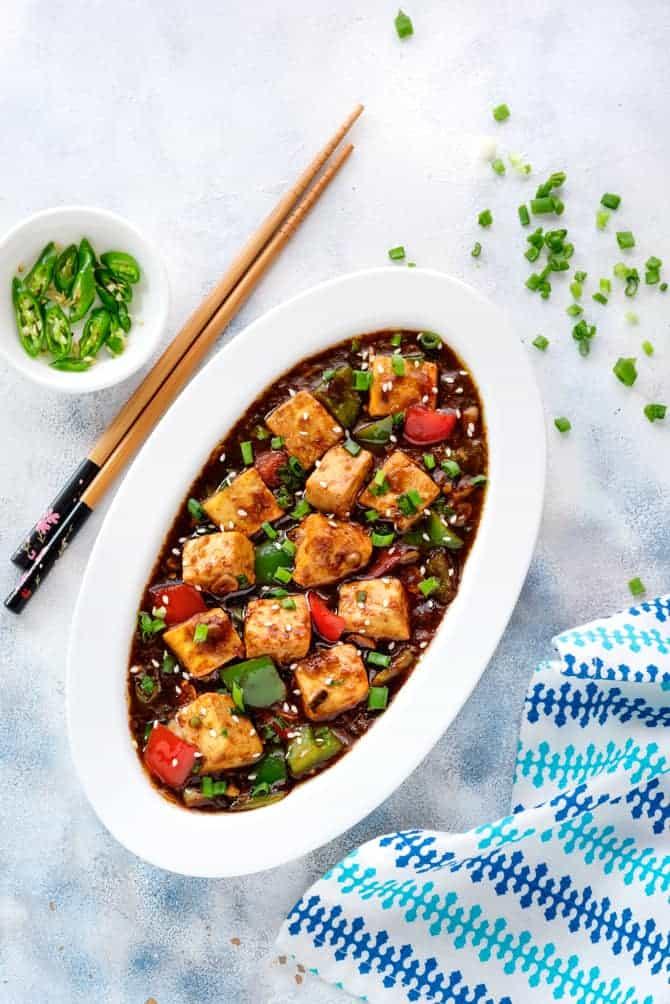 Best Chilli Paneer Gravy Recipe