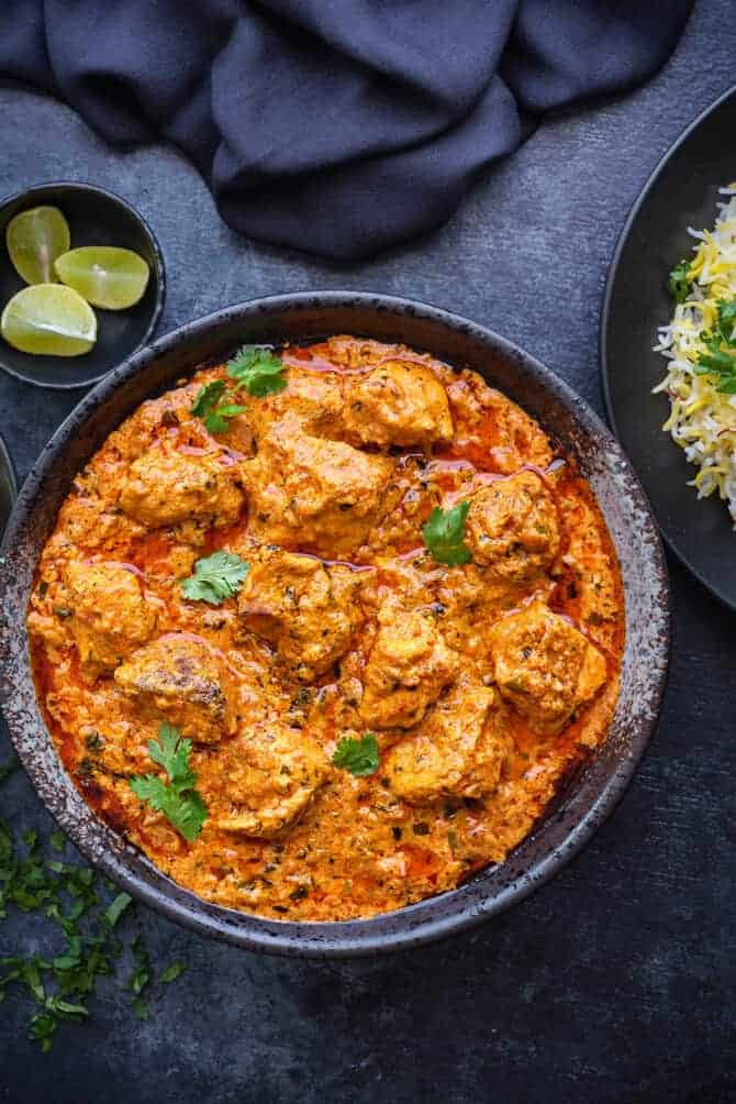 chicken tikka masala, Indian chicken tikka masala recipe, murgh tikka masala