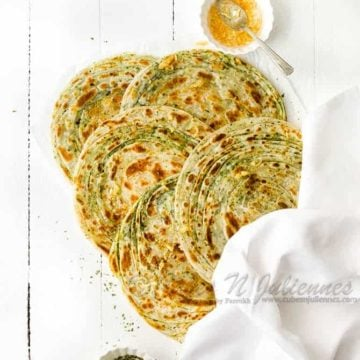 How to make restaurant style Pudina paratha