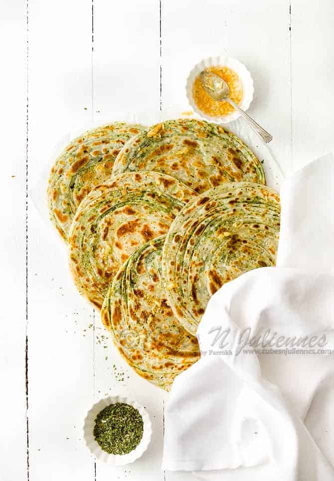 How to make pudina paratha restaurant style