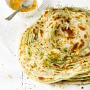 How to make mint paratha at home