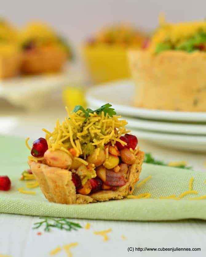 FRUITY TART CHAAT