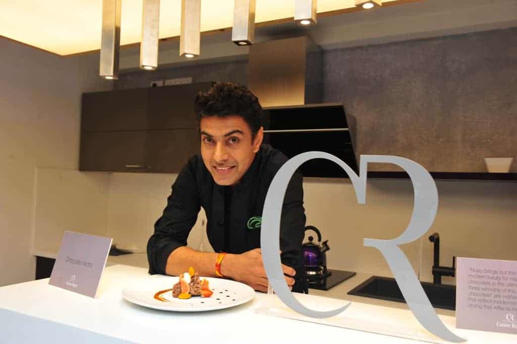 Chef. Ranveer Brar at the Cuisine Regale, Indiranagar, Bangalore