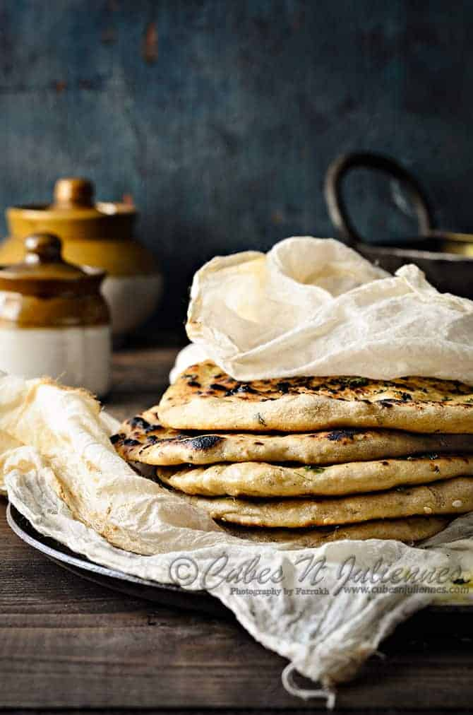 Instant Whole Wheat Naan