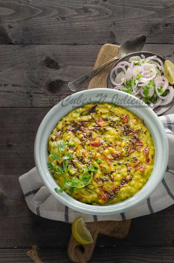 Barley and Vegetable Khichdi