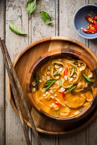 Thai Pumpkin Noodle Soup