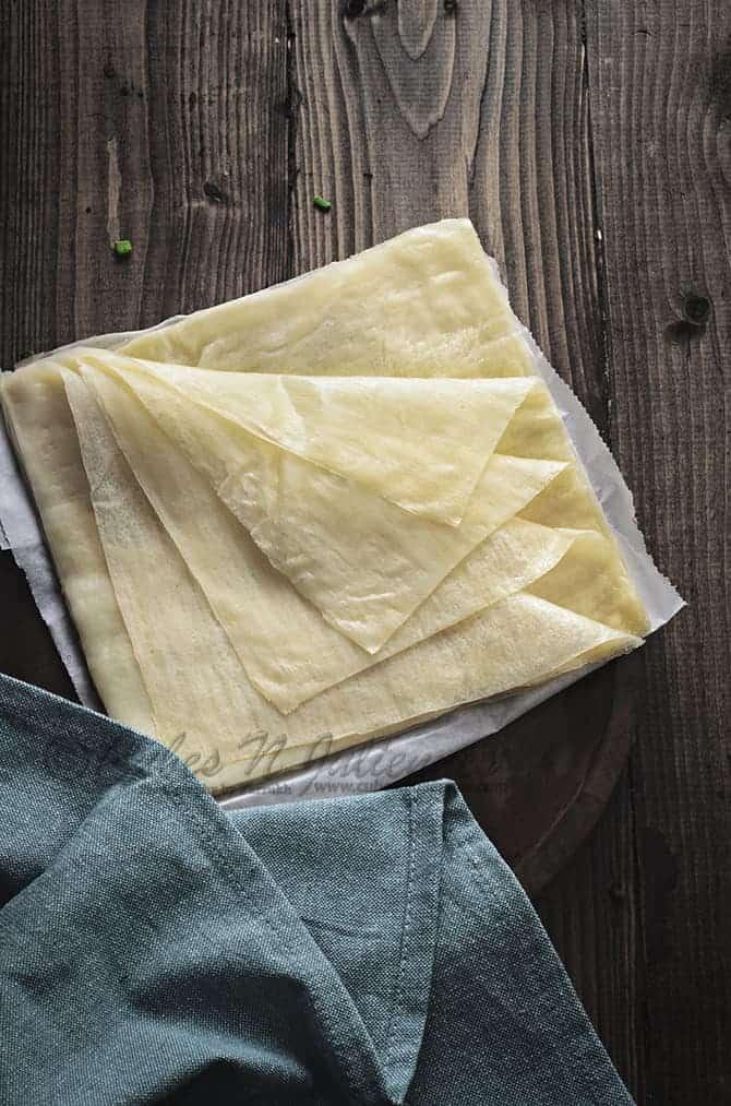 Spring Roll Sheet recipe