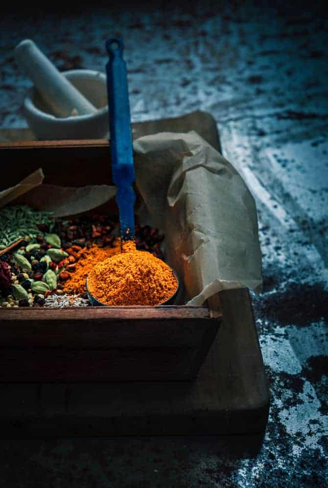 Homemade Punjabi Chole Masala