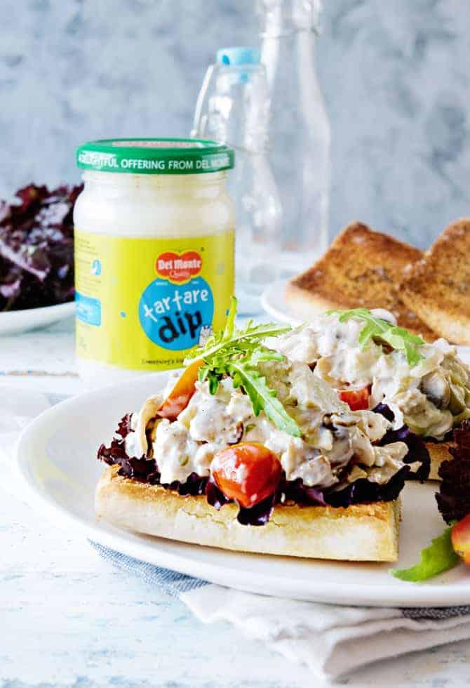 Tuna Mushroom Sandwic