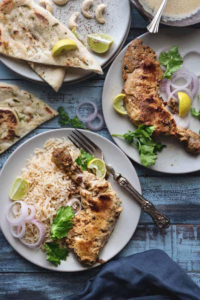 Afghani Tangdi Kabab