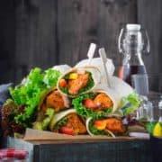 Best Chicken Tikka Wrap