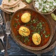 How to make Indian Egg Curry recipe.