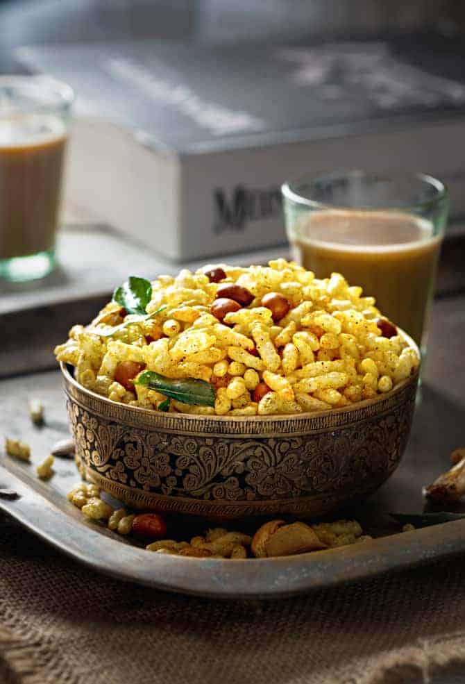 Easy murmure namkeen recipe (Namkin laiya recipe). Salted puffed rice. How to make murmura chivda recipe