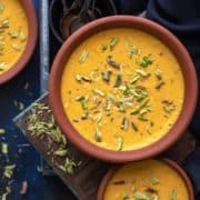 Mango Phirni Recipe. Aam ki phirni recipe. Indian Mango Rice Pudding