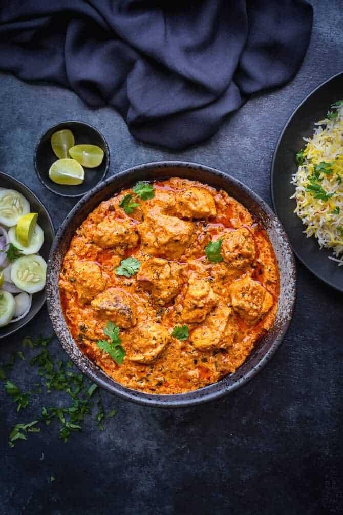 Restaurant style best chicken tikka masala recipe. Indian Chicken tikka Masala recipe. Murgh Tikka Masala