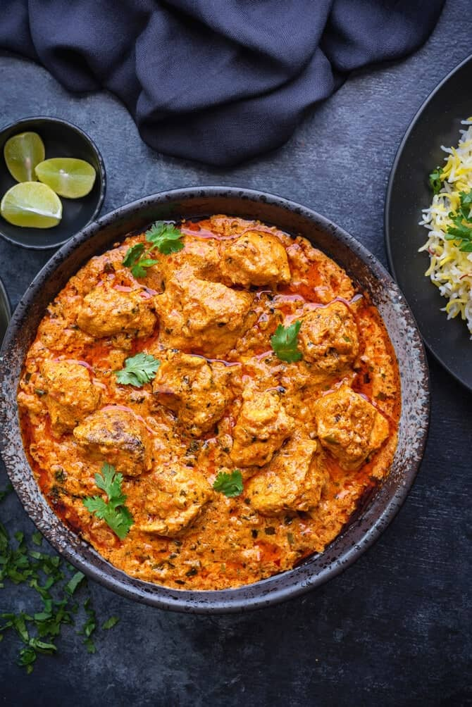 Best Chicken Tikka Masala Recipe Cubes N Juliennes