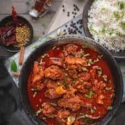 Goan Mutton Vindaloo Recipe, Authentci Vindalo Curry, Vindaloo Paste