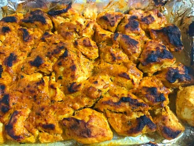 how to make tandoori chicken tikka (murgh tikka)