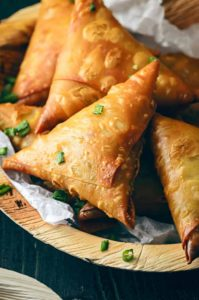 Chinese Samosa Recipe, Chinese chicken samosa, noodles samosa