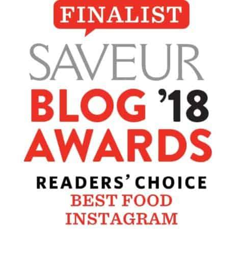 Saveur blog award finalist.
