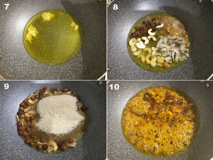 Steps for the making of Zarda Recipe