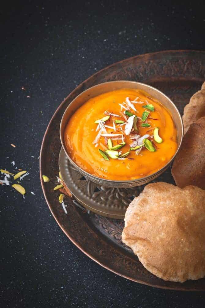 Gujarati Aamras Recipe, Indian Mango Pulp, Mango Ras, aamras puri