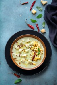 sweet pineapple raita recipe, ananas raita, pineapple ka raita, pineapple fruit raita