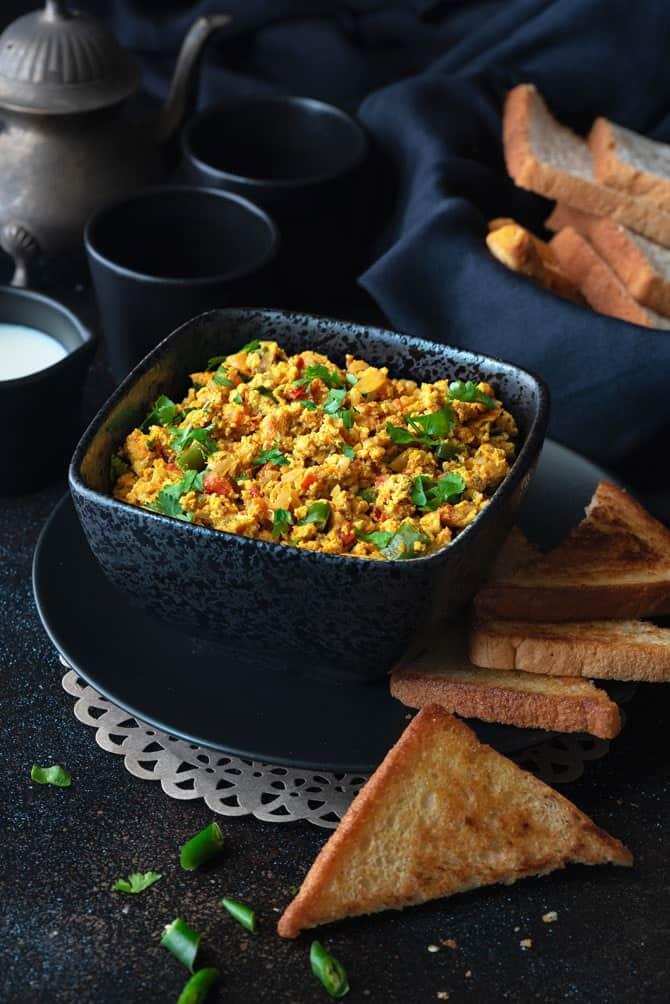 Mumbai style Masala Egg Bhurji Recipe (Anda Bhurji Recipe)
