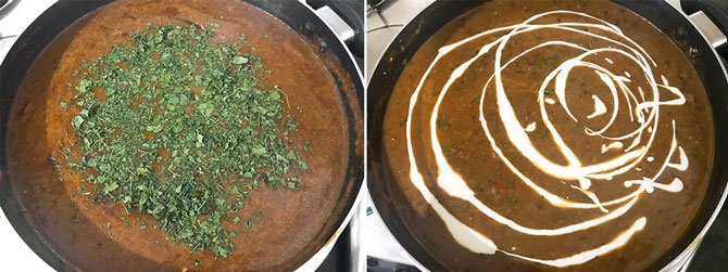 Step by Step process for the making of dal makhani recipe on stove top